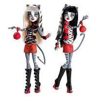 Набор Monster High Мяулодия и Пурсефона  Meowlody and Purrsephone , фото 1