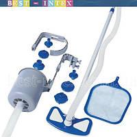 58237 BW Набор для чистки бассейна + скиммер + пылесос для очистки дна