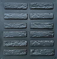 """Форма для декоративного камня и плитки """"Римский кирпич"""", АБС-пластик, 36 форм в комплекте"""