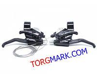 Моноблок Shimano Tourney ST-EF40 правый и левый 3/7 скоростей