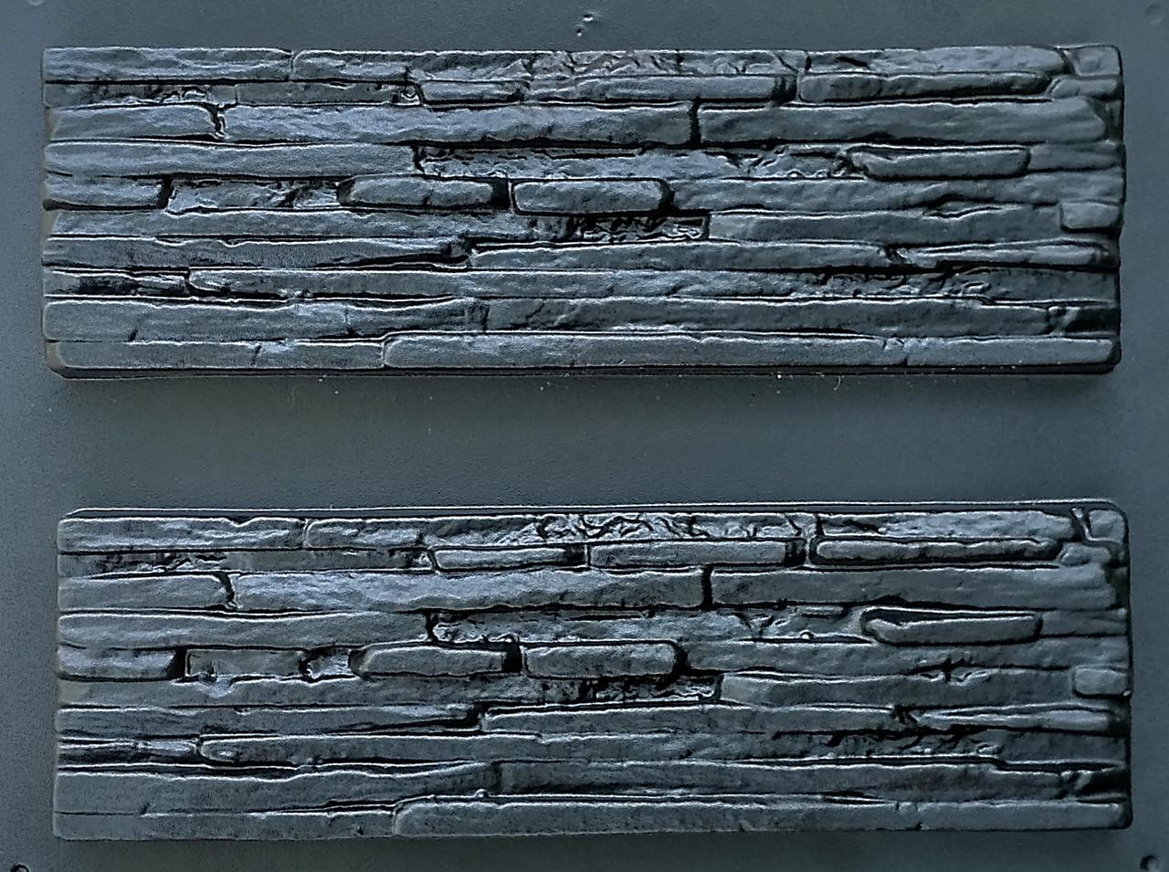 "Форма для декоративного камня и плитки ""Венеция"", АБС-пластик, 6 форм в комплекте"