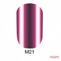 Гель-лак Naomi Metallic Collection M21, 6 мл