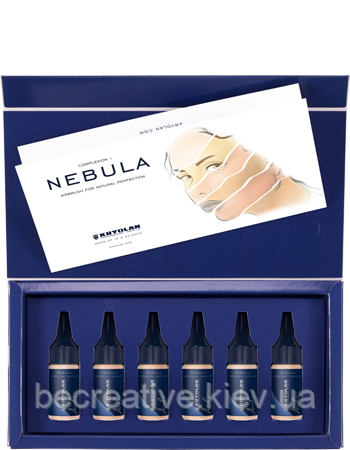 Тон Nebula для Airbrush для тонирования в наборе