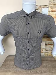 Рубашка в клетку Black Stone