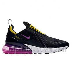 """Женские кроссовки Nike Air Max 270 """"Black/Hyper Magenta"""""""