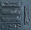 """Форма для декоративного камня и плитки """"Древесный скол"""", 15 плиток в комплекте"""