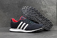 Кроссовки мужские Adidas Neo SD-4305 Материал замша. Темно-синие