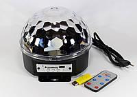 Светодиодный диско шар, Диско LASER XXB 01 M6 + BT, Светошар