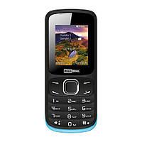 Кнопочный мобильный телефон на 2 сим карты с фонариком Maxcom MM128, фото 1