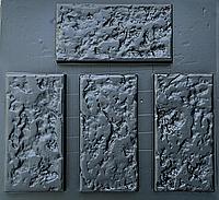 "Форма для декоративного камня и плитки из АБС-пластика ""Ракушняк"" (12 штук в комплекте), фото 1"
