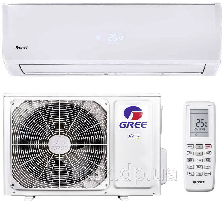 Кондиционер Gree Smart GWH24QE-K3DNB6G Inverter