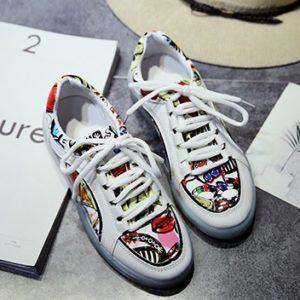 Graffiti Color Светящиеся кроссовки Графити Цветные на шнурках ... f532c407a482f