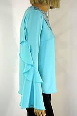 Нарядна  блузка з мереживом , фото 3
