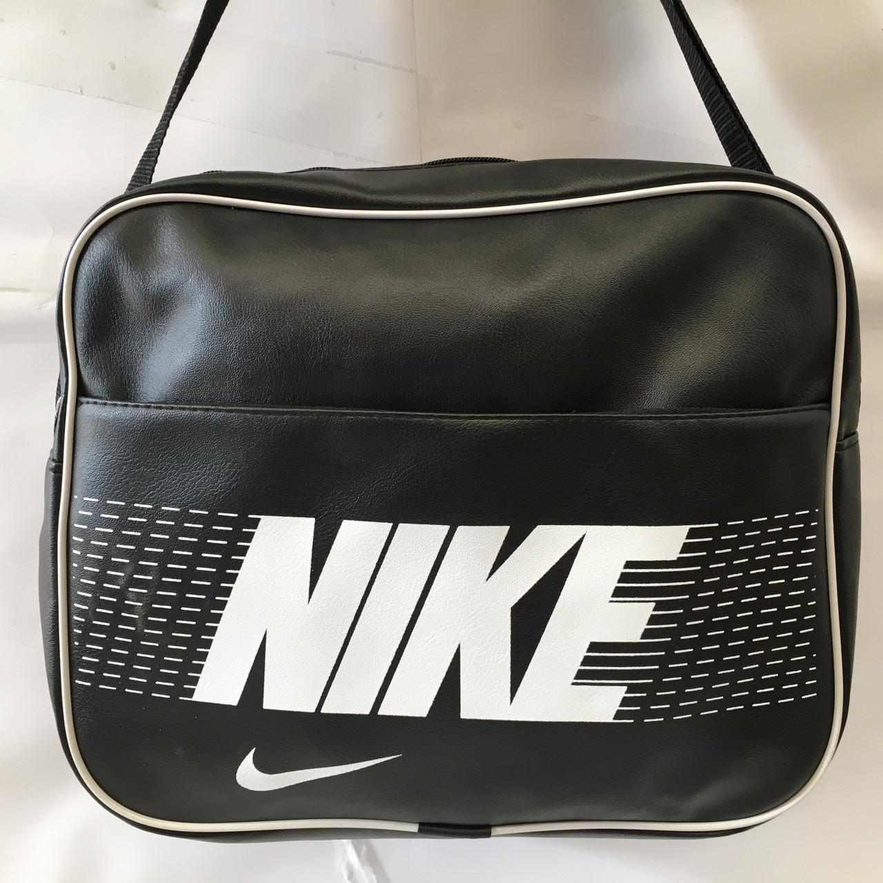 4aa44b06 Спортивная сумка Nike через плечо формат а4 черная оптом: продажа ...