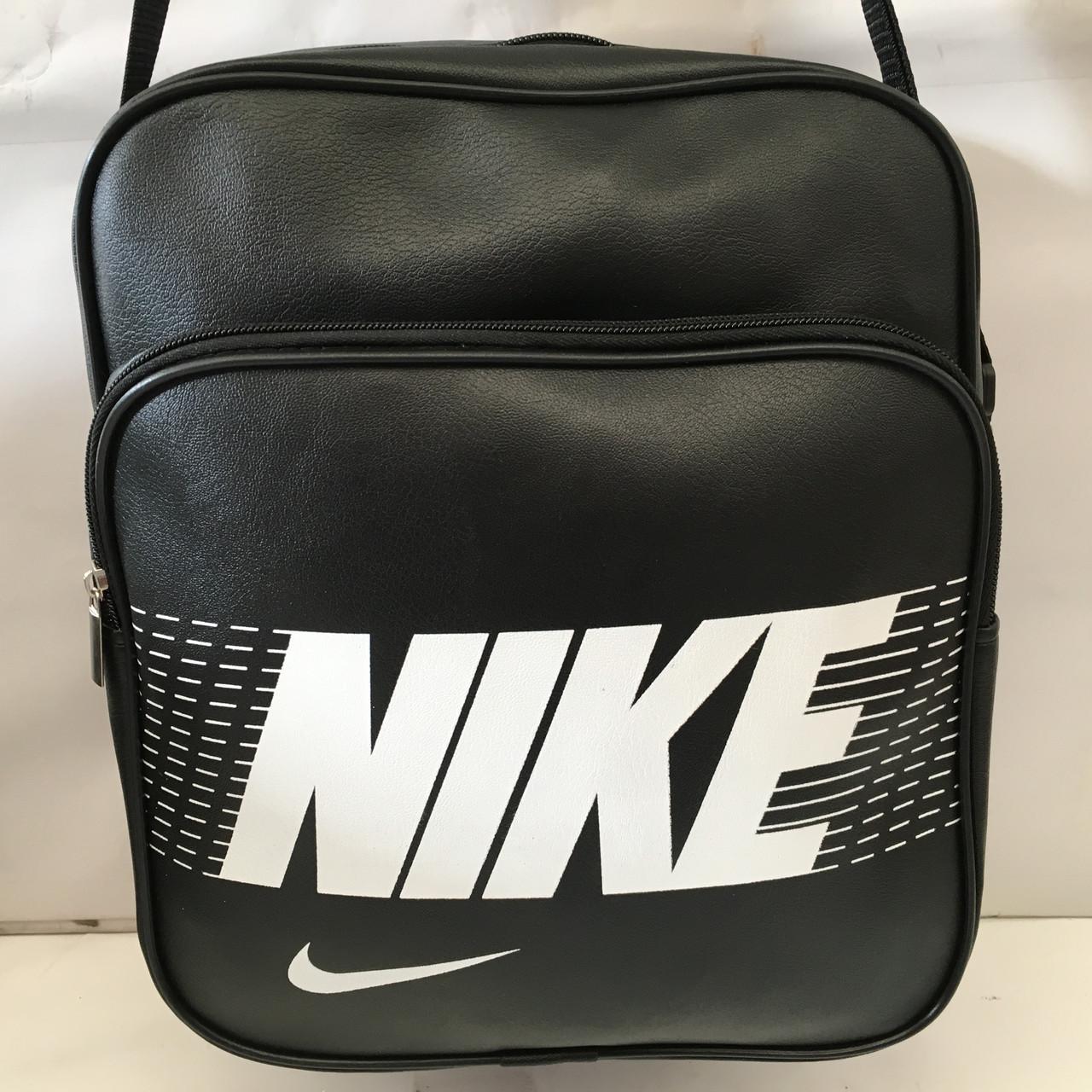 635d621f Спортивная сумка Nike через плечо формат а4 черная оптом : продажа ...