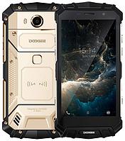 """Doogee S60 Lite gold IP68 4/32 Gb, 5.2"""", MT6750T, 3G, 4G"""