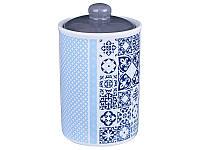 "Банка для хранения   Lefard   ""Синяя мозаика"" 16 см ed358-799"