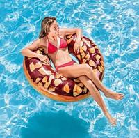 Надувной круг «Шоколадный пончик» Intex 56262