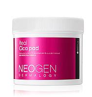 Neogen Dermalogy Real Cica Pad Успокаивающие пилинговые диски