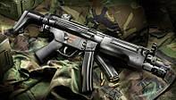 """Глушитель для огнестрельного оружия """"Steel"""" MP5 H&K резьба 15х1 Rh"""