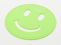 Подставка под горячее Fissman УЛЫБКА, 17см, цвет зеленый чай (силикон)