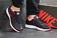 Мужские кроссовки  Nike  Zoom темно-синие- Текстиль,подошва пена,Вьетнам, размеры:41-45, фото 1