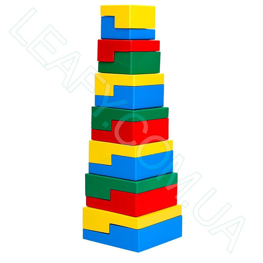 Пирамидка-головоломка 14 эл., Komarovtoys