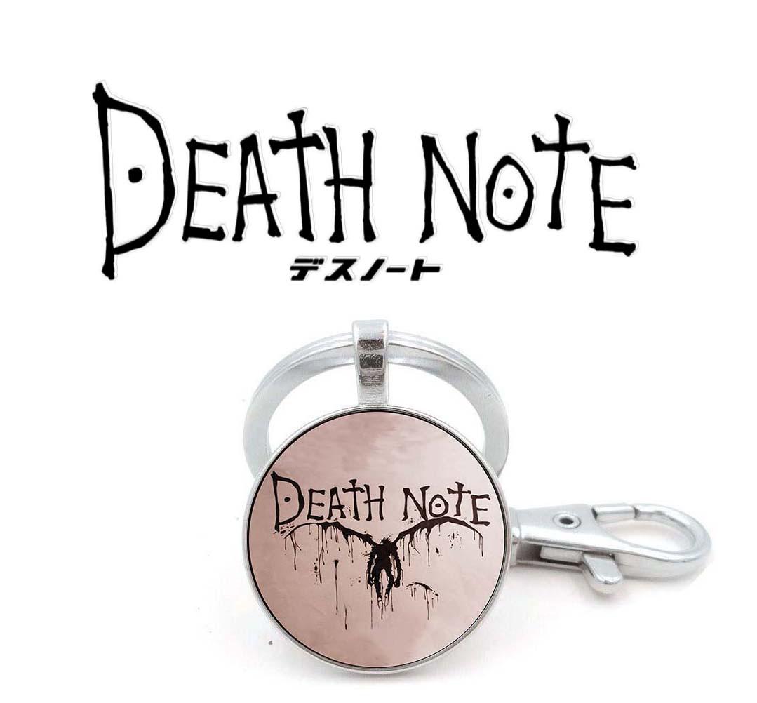 Брелок Тетрадь смерти Death note пастель