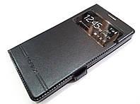 Чехол книжка с окошком momax для Microsoft Lumia 950 XL черный