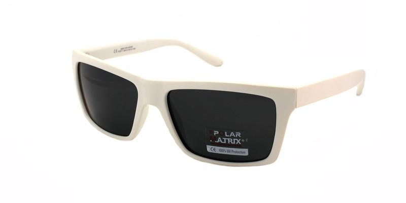 Мужские солнцезащитные очки в белой оправе Matrix Polaroid - Остров  Сокровищ магазин подарков, сувениров и 05f3eae4b58
