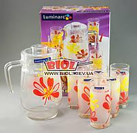"""Набор кувшин + 6 стаканов 270 мл (питьевой набор) """"Aime Pop' Luminarc G1983"""