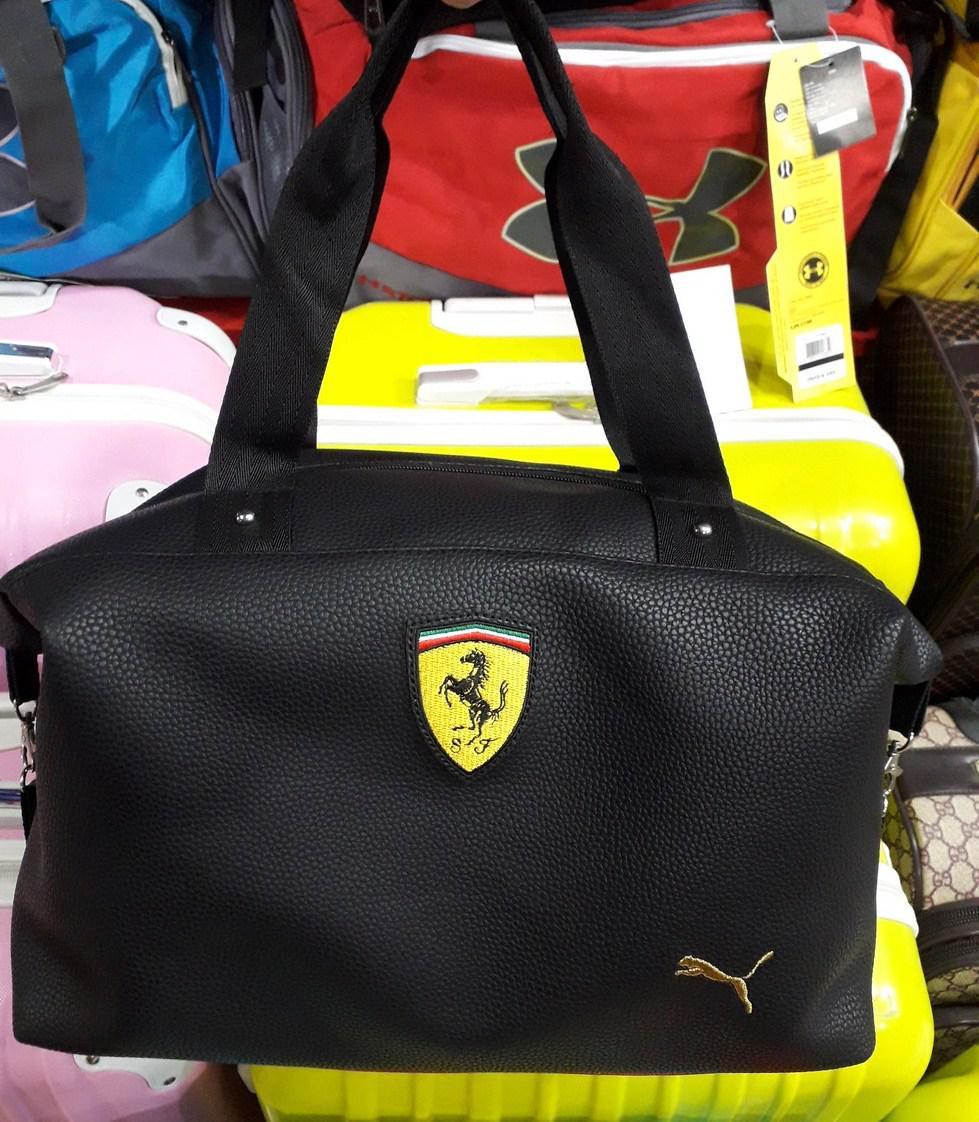 557b98de453e Сумка Puma Ferrari 115364 спортивная из кожзаменителя один отдел копия 40см  х 30см х 15см