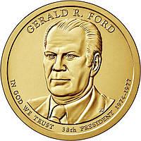 США 1 доллар 2016, 38 президент Джеральд Форд (1974-1977)