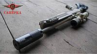"""Глушитель """"Steel"""" для мелкокалиберных винтовок .22 Lr 1/2 28 UNEF"""