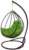Подвесное кресло из ротанга кокон Адель