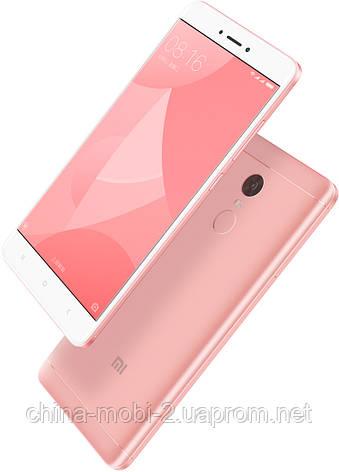 Смартфон Xiaomi Redmi Note 4X 32Gb Octa core Pink ' , фото 2