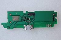 Плата Lenovo A850 коннектора заряда с компонентами