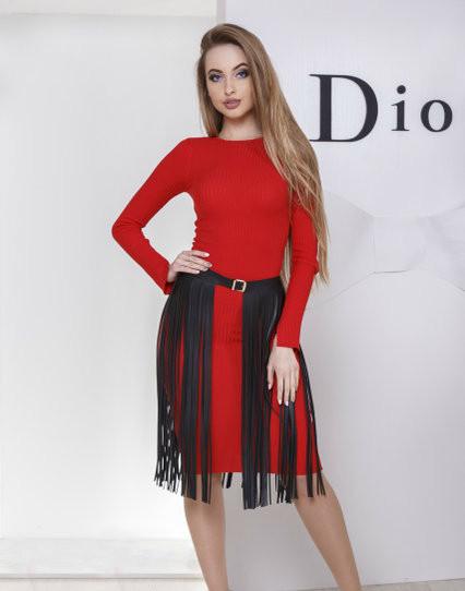 Стильная портупея юбка мод 9005