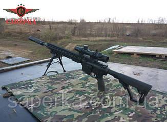 """Глушитель, саундмодератор """"Steel"""" для AR-15 223 1/2 28 UNEF, фото 2"""