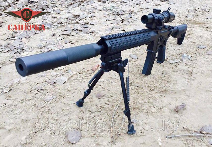"Глушник, саундмодератор ""Steel"" для AR-15 223 1/2 28 UNEF"