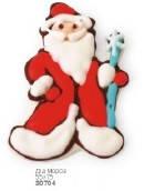 Кондитерское украшение Дед Мороз (плоское)