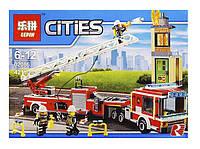 Конструктор Lepin серия Cities 02086 Пожарная машина (аналог Lego City 60112)