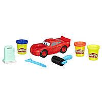 Play-Doh игровой набор Тачки Молния Маквин 3 Disney Pixar Cars Lightning McQueen