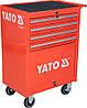 Шкаф-тележка для инструментов c 4 ящиками, YATO YT-0912