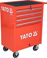 Шкаф-тележка для инструментов c 4 ящиками, YATO YT-0912, фото 1