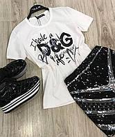 Женские брендовые футболки , фото 1