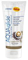 "Оральная смазка - *AQUAglide ""cappuccino"" 100 ml tube"