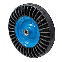 Колесо без кронштейна Серия 34 с шариковыми подшипниками Kastor Диаметр: 390мм.