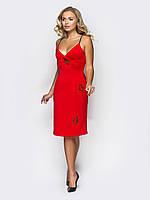 Соблазнительное коктейльное платье с нашивками 90274/1, фото 1
