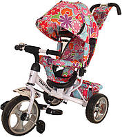 Детский трехколесный велосипед с родительской ручкой   TILLY Trike